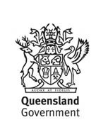 Queensland Government logo.